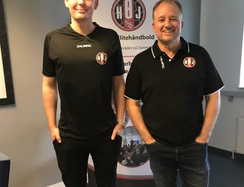 HØJ Elite har indgået 2-årig aftale med ung bagspiller fra Randers Håndbold