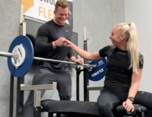 Samarbejdet imellem HØJ Elitehåndbolds Louise Hjorth og Renfitness