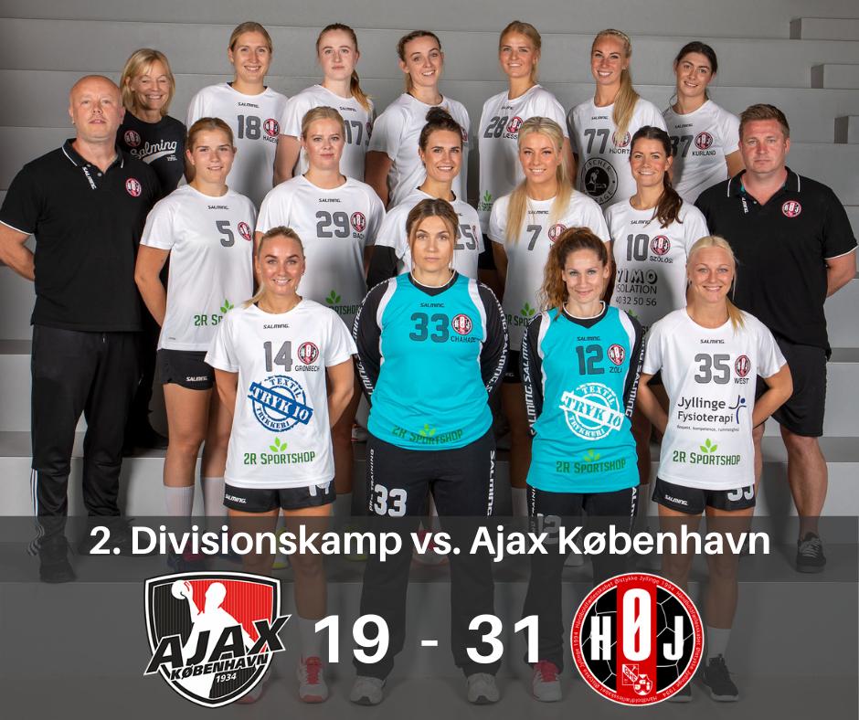 Ajax København vs. HØJ Elitehåndbold nedtakt