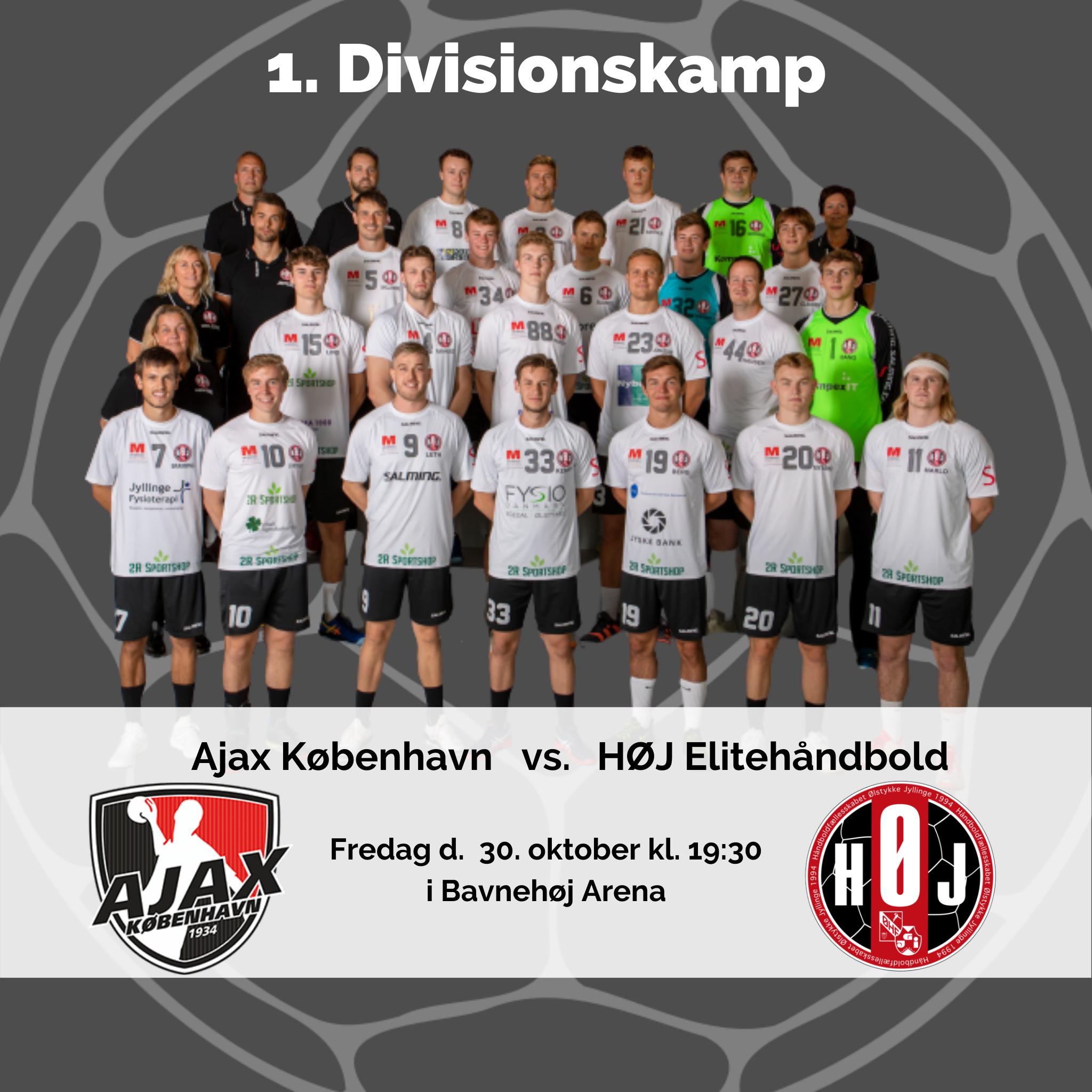 Ajax København vs. HØJ Elitehåndbold