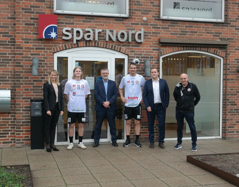 Bo Spellerberg og Marcus Stroustrup hos Spar Nord Bank