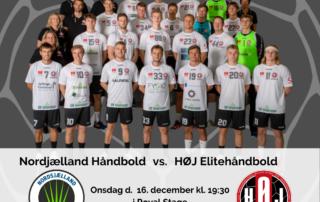 Nordsjælland Håndbold vs. HØJ Elitehåndbold