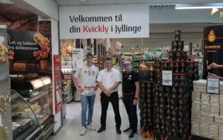 Bo Spellerberg hos Kvickly