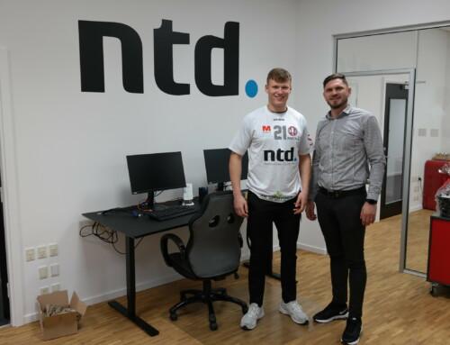 Mød IT-huset NTD, som er blevet personlig sponsor for vores stregspiller Tim Rantala
