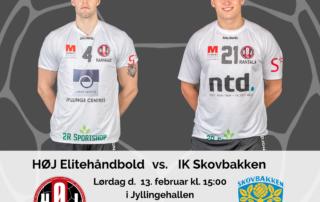 HØJ Elitehåndbold vs. IK Skovbakken
