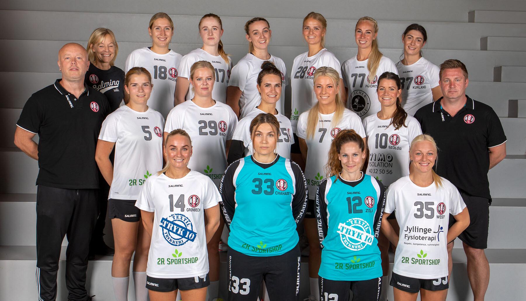 HØJ Elitehåndbold damehold 2020-21