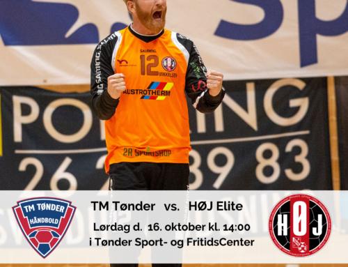 Næste opgave for herrerne er TM Tønder Håndbold